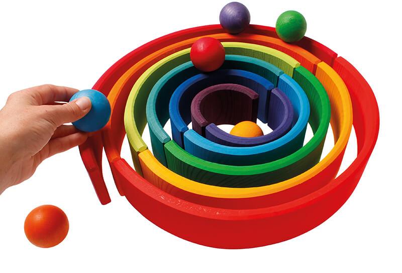 Spielzeug ab 3 Jahre Grimms Bogen
