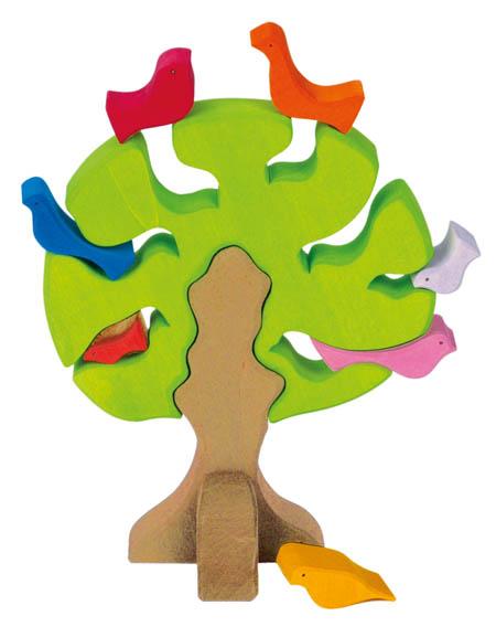 Spielzeug ab 3 Jahre Vogelbaum
