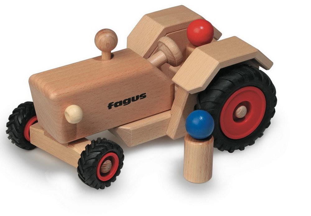 spielzeug traktor von fagus bei carelino spielzeug mit. Black Bedroom Furniture Sets. Home Design Ideas