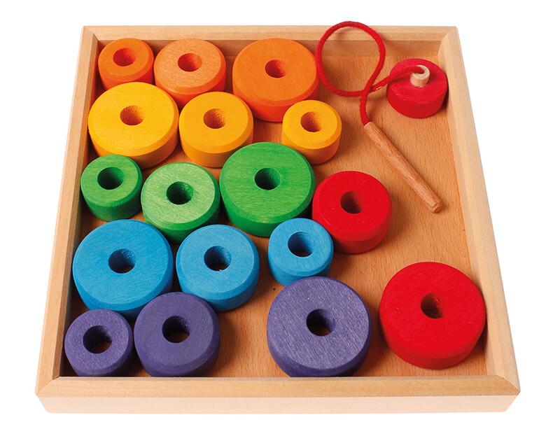 Spielzeug ab 1 Jahr Fädelspielzeug