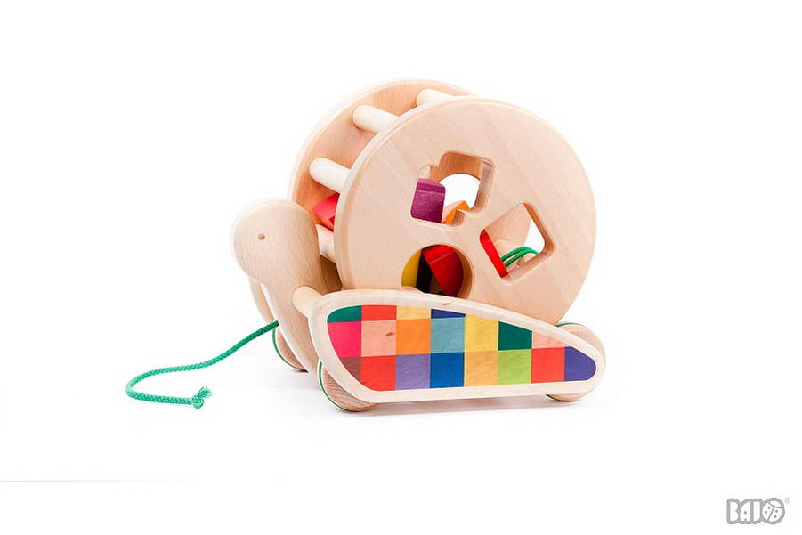 Spielzeug ab 1 Jahr Ziehtier Steckspielzeug